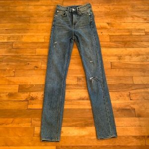 4/$40 -H&M DIVIDED Skinny High Waisted Jeans - 2